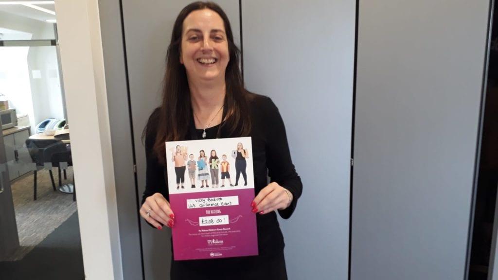 University-of-Salford-Vicky-Bennett-Kidscan-Childrens-Cancer-Research