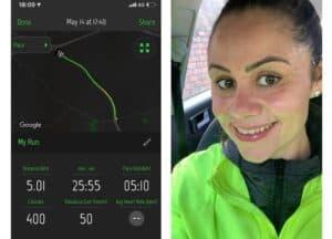 Lorna Lewis May training for London Marathon 2021